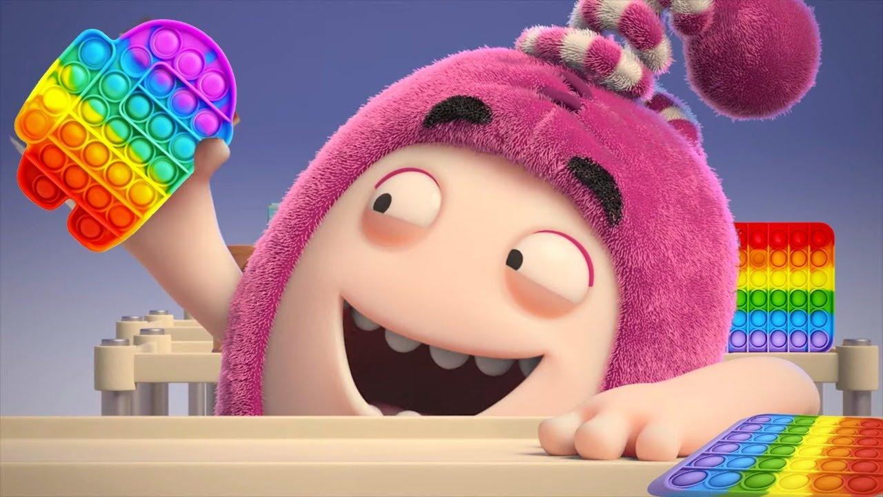 Oddbods POP IT Fidget Toy   LIVE   Funny Cartoon 🔴