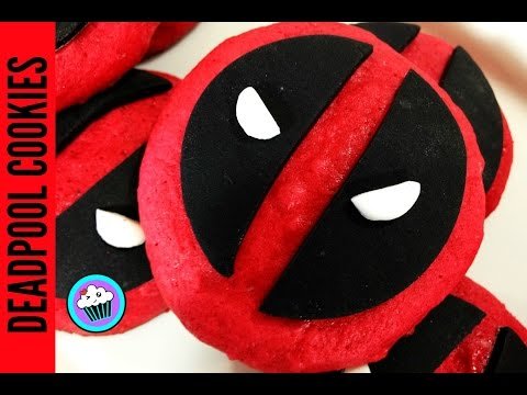 How to make Deadpool Cookies | Pinch of Luck
