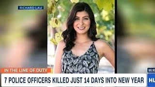 7 Police Officers Killed In The First 14 Days Of 2019!