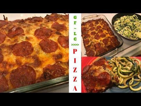 Gluten Free ~ Low Carb Deconstructed Pizza Casserole
