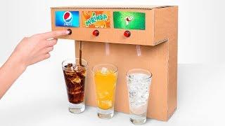 Haz tu propia máquina de refrescos y sorprende a tus amigos