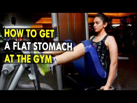 How to Get a Flat Stomach at the Gym - Health Sutra - Best Health Tips