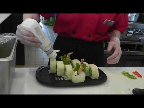 verywellseido:Shrimp tempura roll decoration ^^