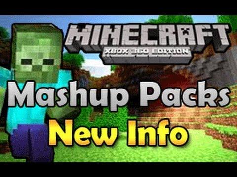 Minecraft (Xbox 360) Mashup Packs New Info (TU12)