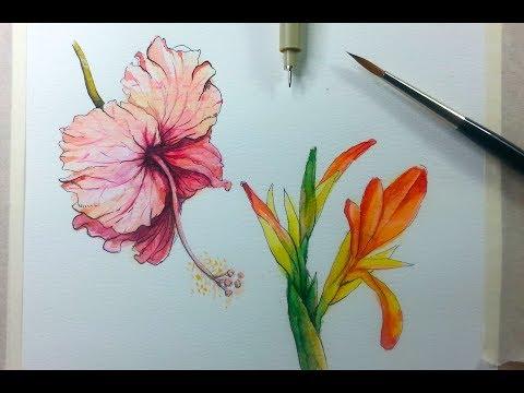 How To learn Fabric Painting - Class 2 - Busma Ahsan