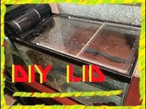 DIY Aquarium Lid, Sliding Aquarium Top Lid, Polycarbonate Tank lid