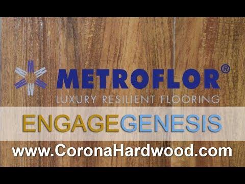 Metroflor Engage Genesis Waterproof Luxury Vinyl Plank Flooring