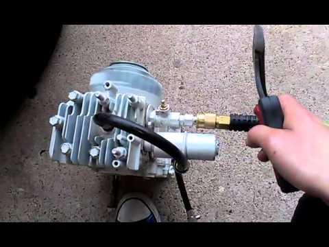 Air powered briggs n straton engine