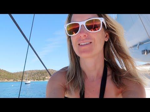 A sweaty race through Sicily and Sardinia!! (Sailing BareFeet Ep13)