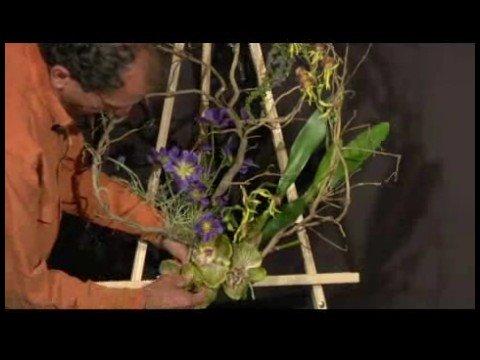 Making Silk Flower Wreaths : Attaching Silk Flowers to Wreaths