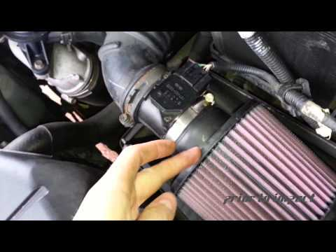 Cold Air Intake with Blow Off Valve - Sound Test