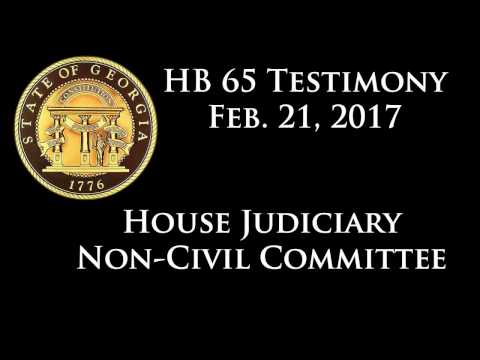 Doctors Testify to the Benefits of Cannabis at HB 65 Hearing, February 21, 2017