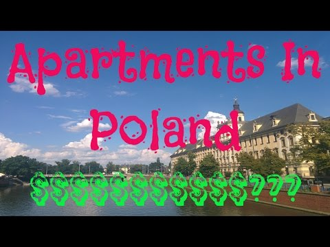 What does an apartment in Poland look like? (and how much does it co$t?)