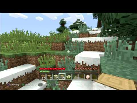 Minecraft Live GamePlay [Offline mode] [PS3]