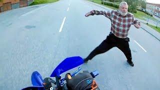 CRAZY, STUPID & ANGRY PEOPLE vs BIKERS   MOTORCYCLE ROAD RAGE [Ep. #93]