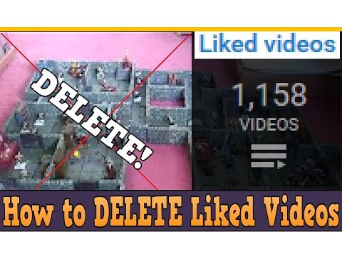How To Delete Many Liked Videos From YouTube Playlist (2018)