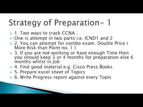 How to Pass CCNA in First attempt