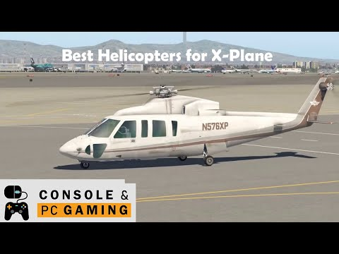 Fight Simulator - X-plane 11 Sikorsky S-76 Helicopter