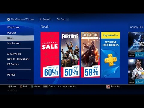 PS4 January SALE - PS PLUS EXCLUSIVES 2018 EU