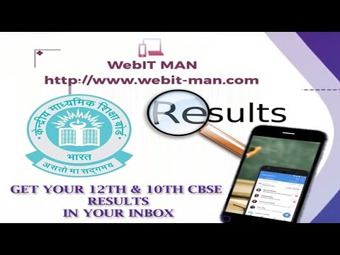 Get 10th & 12th CBSE 2018 Result in Your Inbox | Microsoft SMS Organizer | CBSE Results 2018