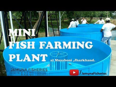 Mini(Portable) Fish Farming Plant at Musabani , Jharkhand