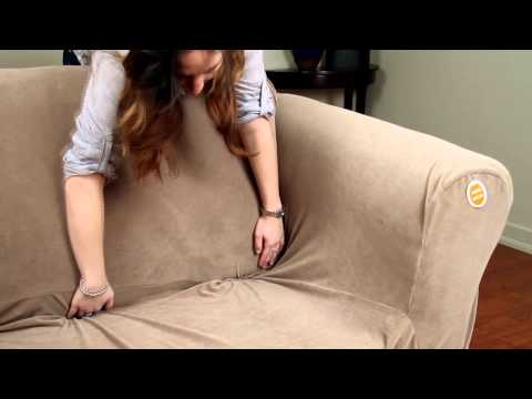 How to Install a 2-Piece Stretch Slipcover by Caber Sure Fit Inc.