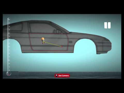 Little Big Planet 3 Car Building tutorial Part 1: '91 Nissan 240SX S13