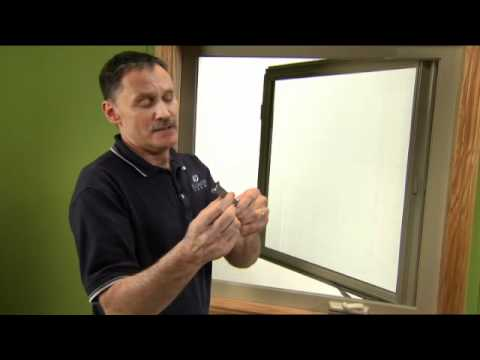 How to Adjust the Sash on a Casement Window