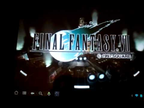 Final Fantasy 7 on TouchPad using FPSe Part 1