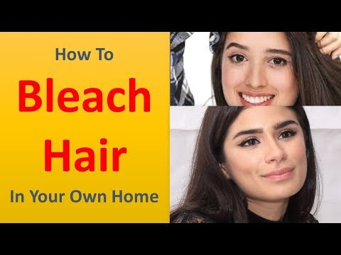 How To Bleach Hair In Your Own Home StagebyStage Guide With Pictures.|Use Virgin Hair.