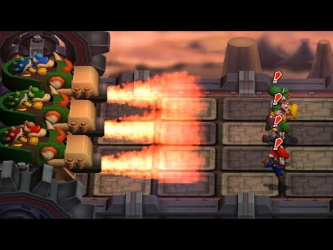 Mario Party 7 - All Bowser and DK Minigames