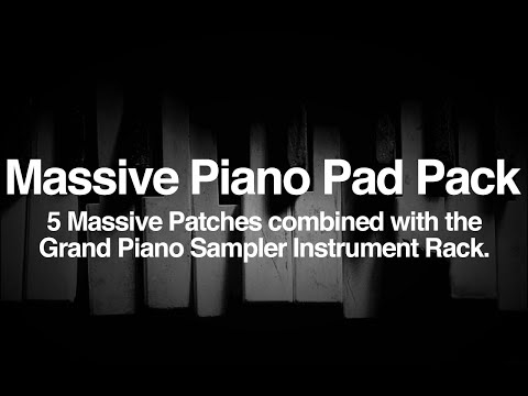 Free Massive Piano Pads - Ableton Live Instrument Racks