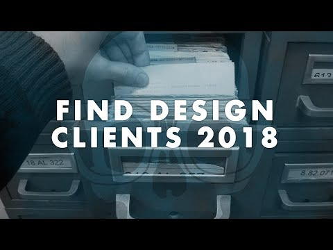 How to Find Graphic Design Clients in 2018