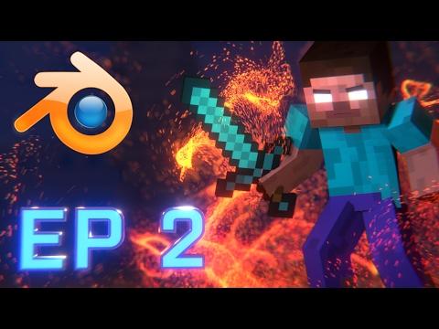 Minecraft Animation Tutorial Episode 2: Scene Setup (Blender)