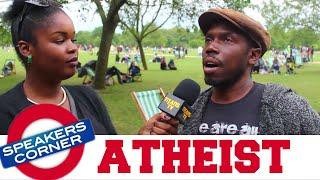 Black Atheist | Who Created God? | SPEAKERS CORNER