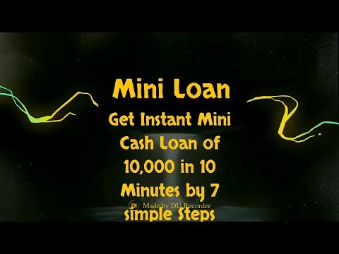 Instant Cash Loan in 10 min !! 10,000 Rs loan in 10 Minutes !! Online cash loan !! No Documents !!