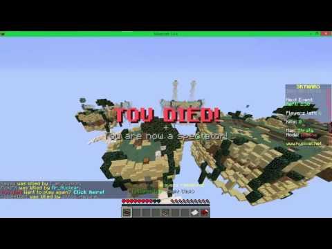 ExoticCraft got shut down. Minecraft Hypixel skywars lag!!!!!!