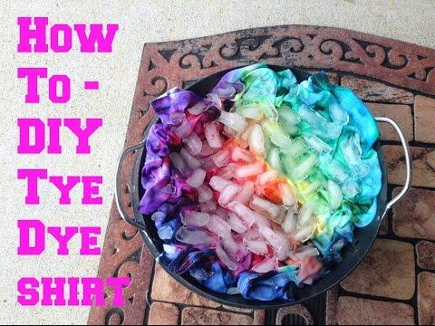 How To| DIY Tye Dye Shirt