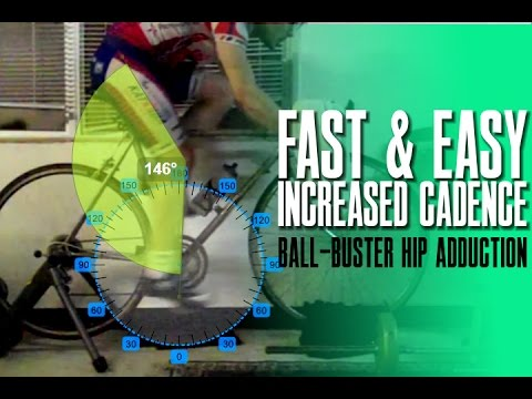 Ball-Buster Hip Adduction | How to Increase Cycling Cadence