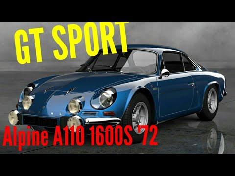 GT SPORT Alpine A110 1600S '72 vs. F40