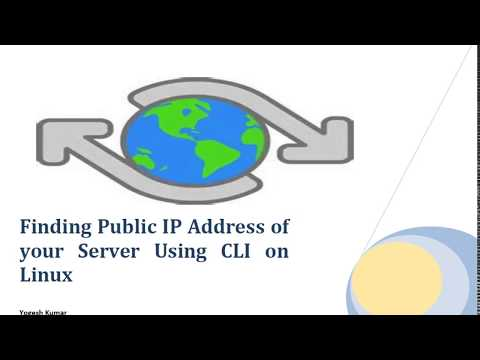 Find your Public IP using CLI on Linux