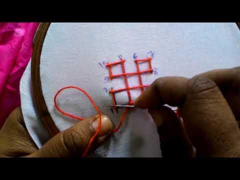 4.Sindhi embroidery ,sindhi tanka,kutch work,gujrati stitch. Concept video for beginner's.