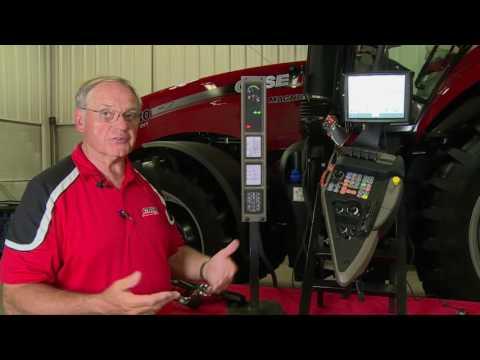 Case IH Tractors: How to Set Armrest Slip Limit