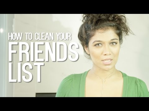 How to clean your Facebook friends list #NoFilters