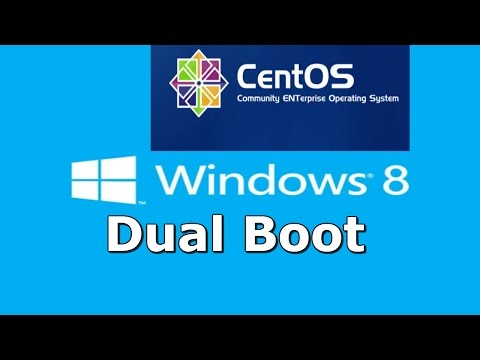 How to Dual Boot Windows 8 and CentOS 7