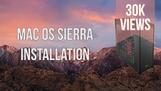 GUIDE] Sierra 10 12 4 i7 5820k 4 3 Ghz GTX 1080 Hackintosh