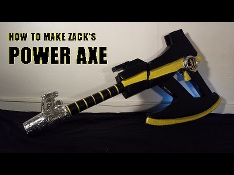 How to Make Zack's Power Axe