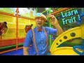 Play At The Play Place With Blippi Learn Fruit And Healthy Eating For Children