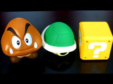 Super Mario Squishies Unboxing!