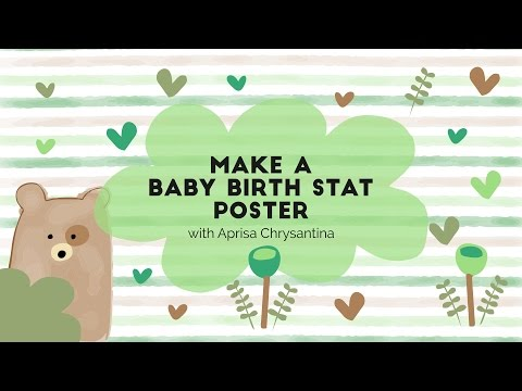 Introduction - Baby Birth Stat Poster